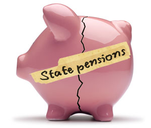 Pension Crisis Icon